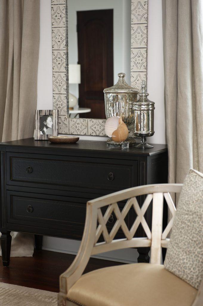 Classic Bedroom Accessories. Interior Design by Kim Cavalier