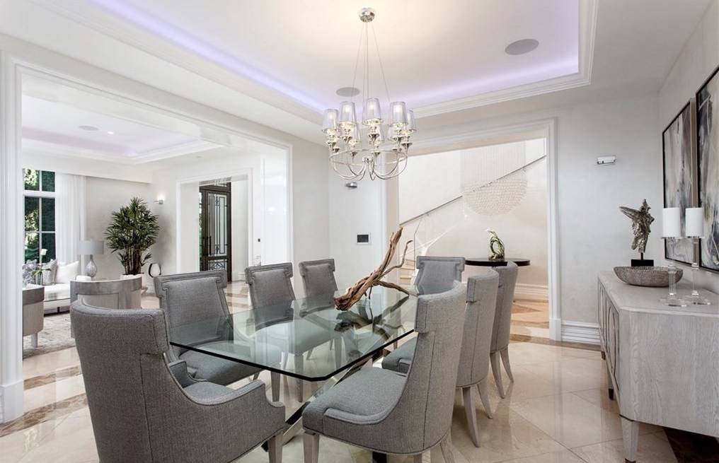 Home Staging Newport Beach CA Dining Room