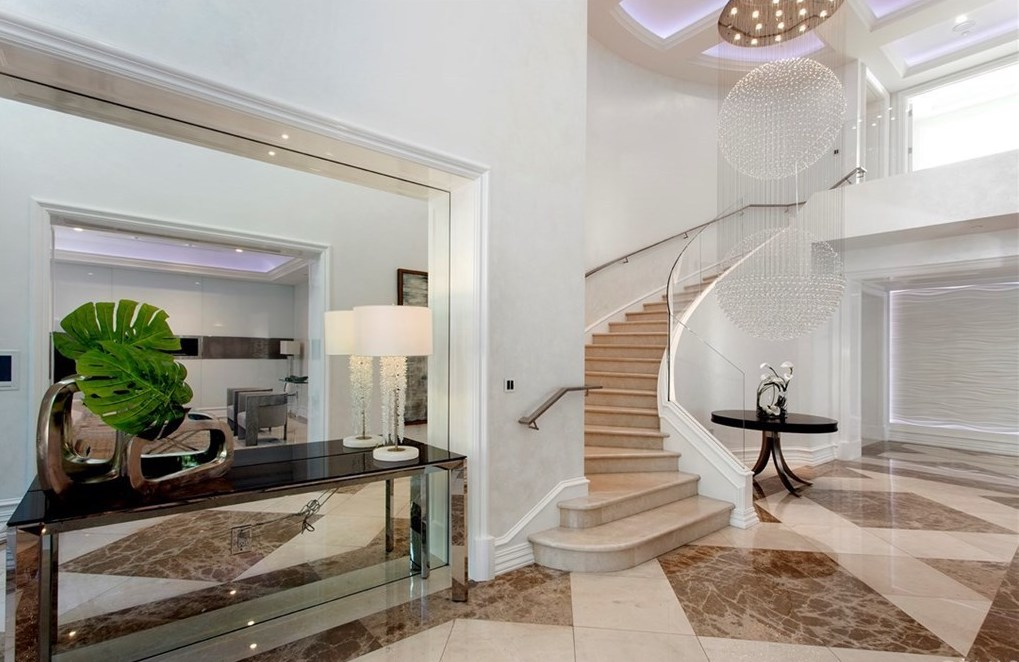 Home Staging Newport Beach CA Foyer