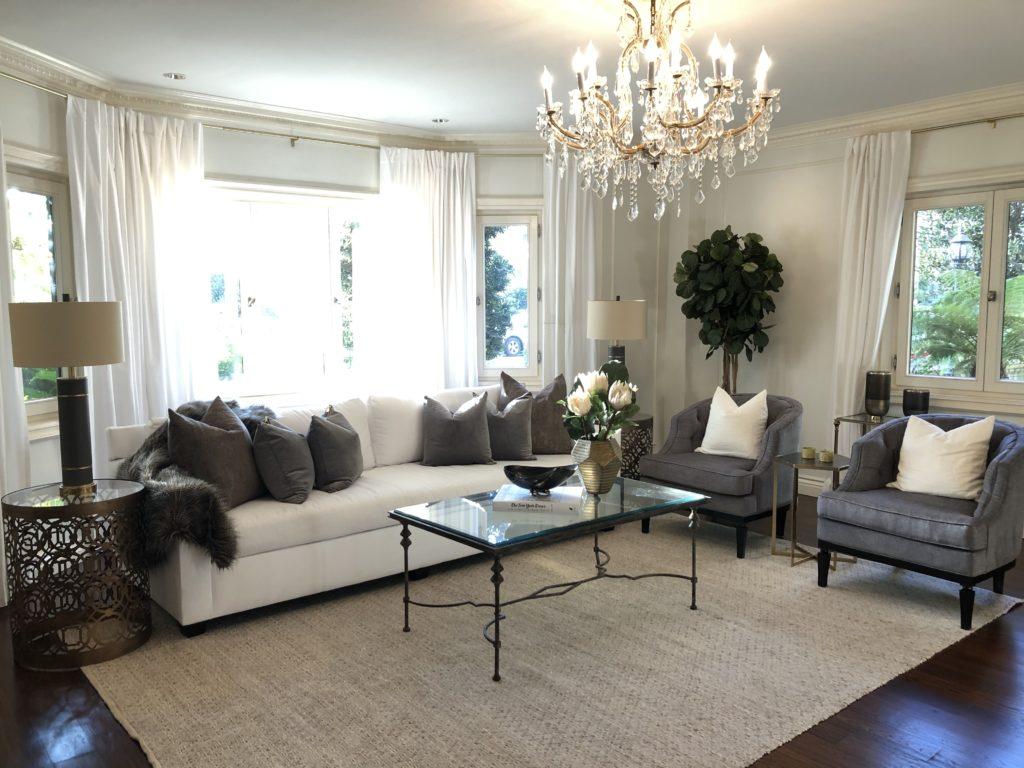Home Staging Elegant Living Room