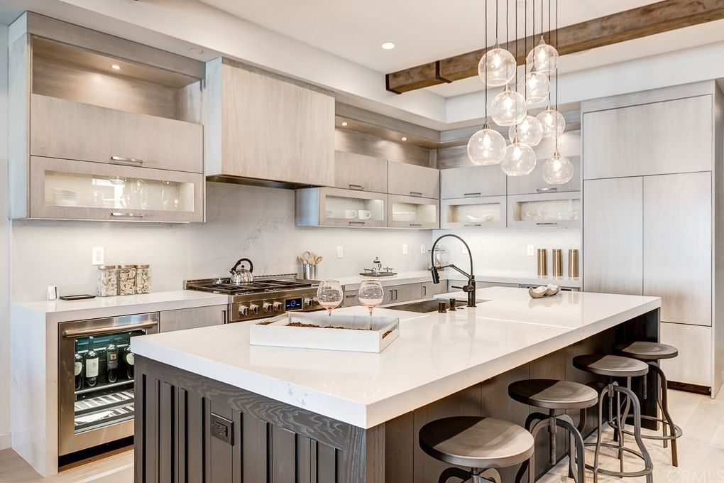 """Los Angeles Home Staging Modern Farmhouse Kitchen"""