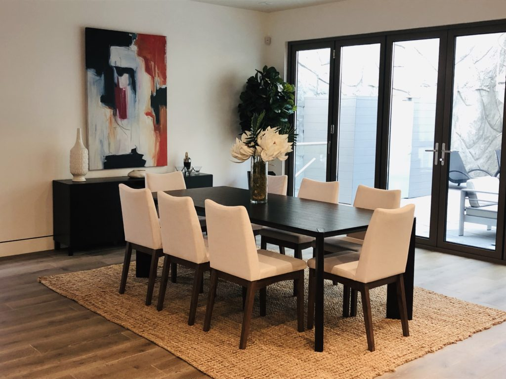 Home Staging Dining Room