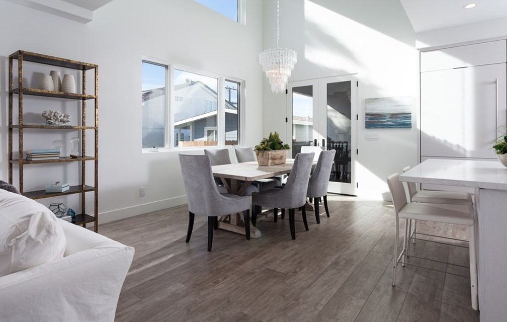 Home Staging Modern Farmhouse Dining Room