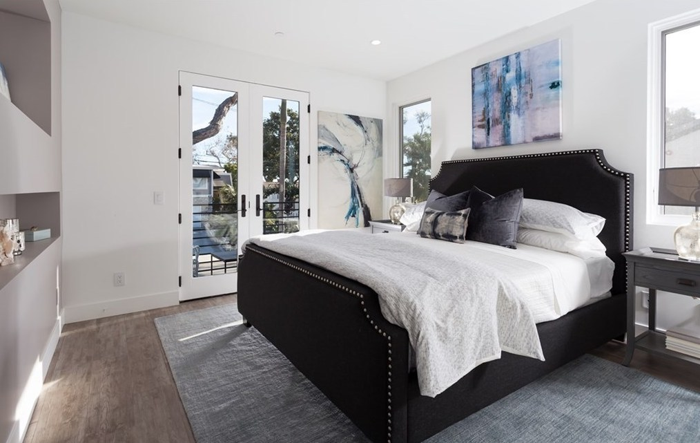 Los Angeles Home Staging Bedroom