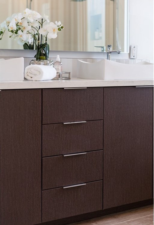Bathroom Staging by Kim Cavalier Staging & Design